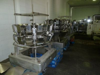 Ishida Multihead Weigher 214 Dimple Finish